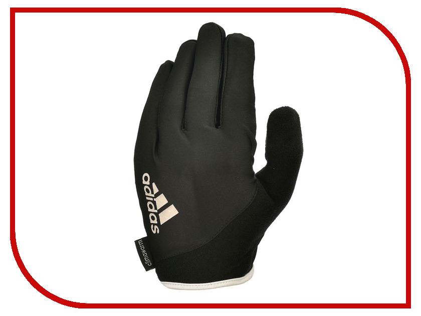 все цены на Перчатки для фитнеса Adidas Essential ADGB-12421WH размер S Black/White онлайн