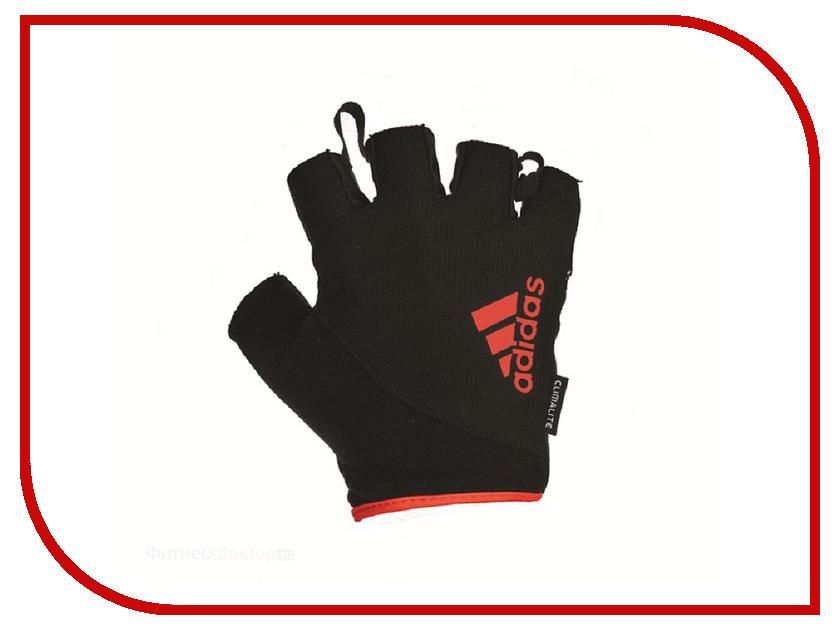 все цены на Перчатки для фитнеса Adidas Essential ADGB-12324RD размер XL Red онлайн