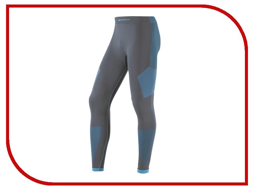 Кальсоны GUAHOO Sport Light M-L Gray-Turquoise G23-1600P термоноски guahoo outdoor light 52 0933 cw bk