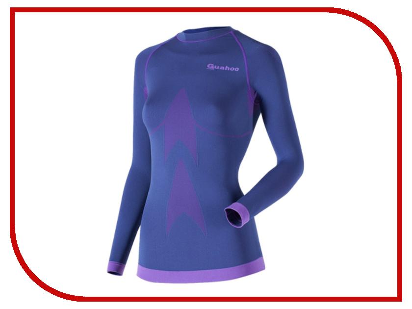 Рубашка GUAHOO Sport Light XS-S Blue G23-1601S термоноски guahoo sport light 111 gy