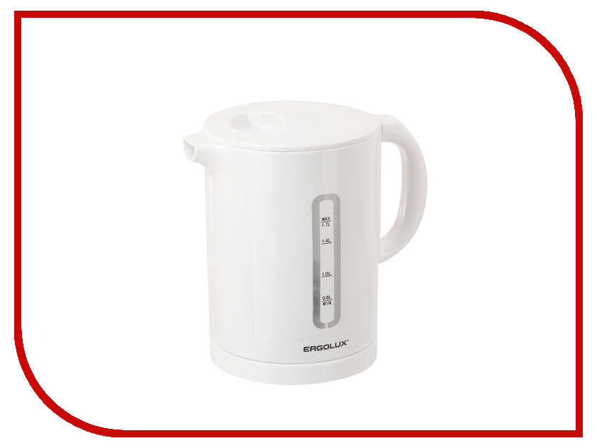 Чайник Ergolux ELX-KH01-C01 White 13114