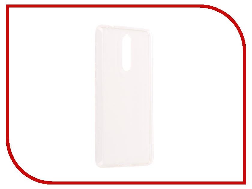 Аксессуар Чехол Nokia 8 Silicone Transparent nokia 6500 clasic купить в ростове