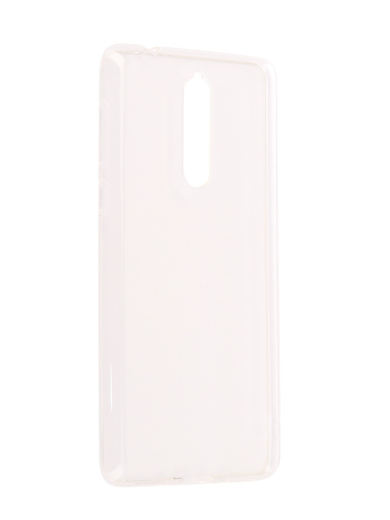 Аксессуар Чехол Nokia 8 Silicone Transparent