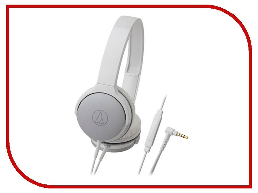 Гарнитура Audio-Technica ATH-AR1ISWH audio technica ath ls50is 15119537 внутриканальные наушники red