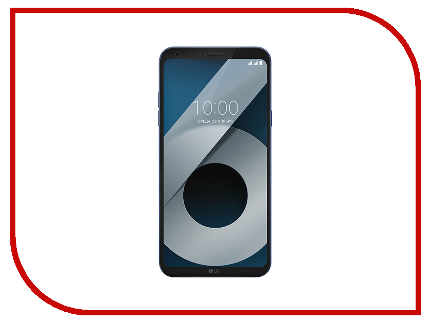 Сотовый телефон LG M700AN Q6+ 64Gb Blue сотовый телефон lg stylus 3 m400dy