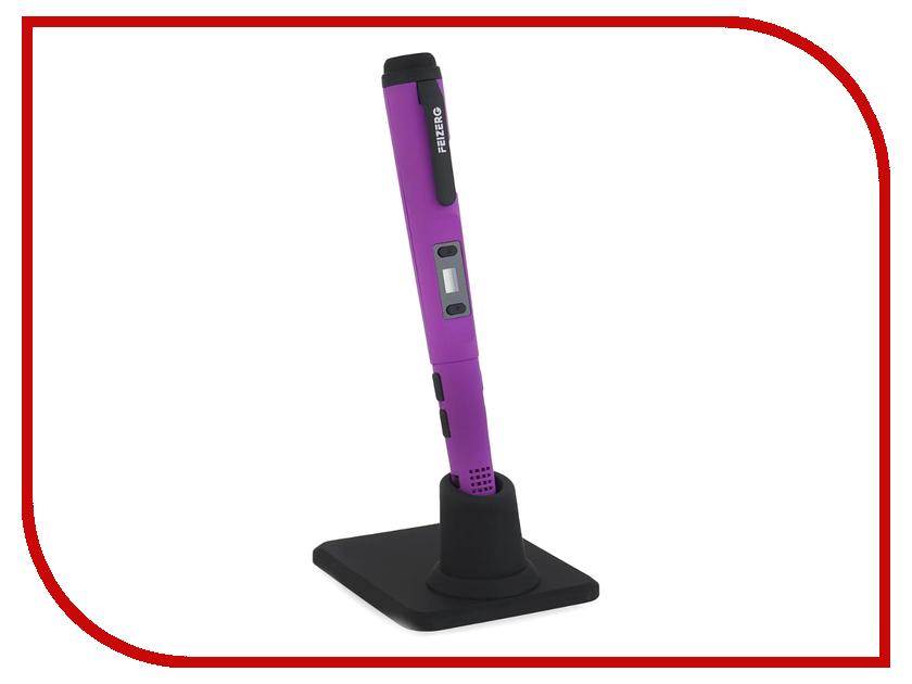 Аксессуар Набор для объемного рисования Feizerg F001 Purple FSP001 3d ручка feizerg f 001 blue