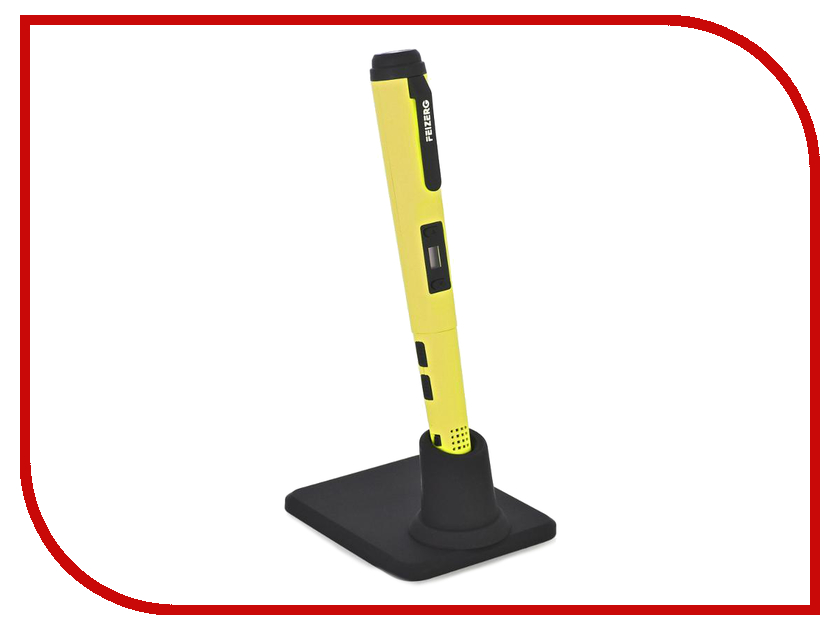 3D ручка Набор для объемного рисования Feizerg F001 Yellow FSY001 3d ручка feizerg f001 yellow fy001