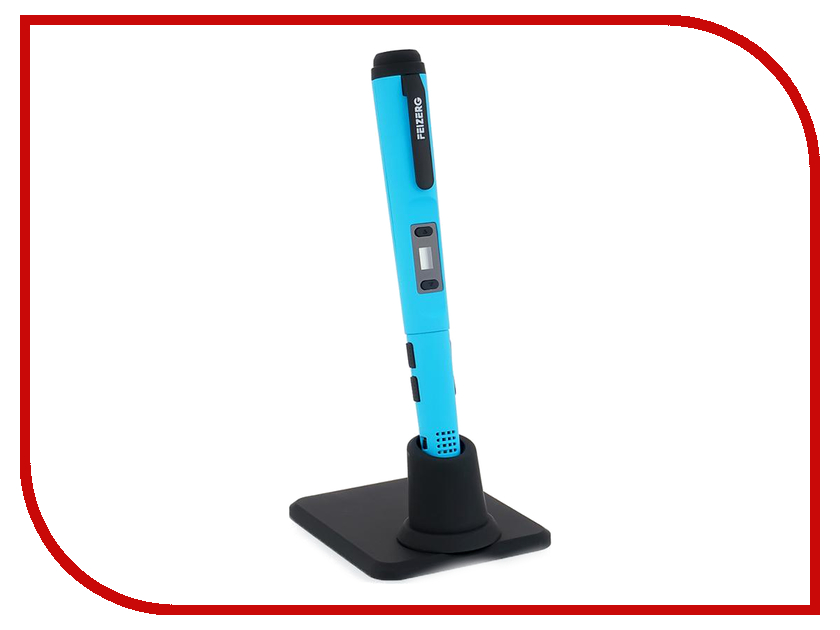 3D ручка Набор для объемного рисования Feizerg F001 Blue FSB001 3d ручка feizerg f001 yellow fy001