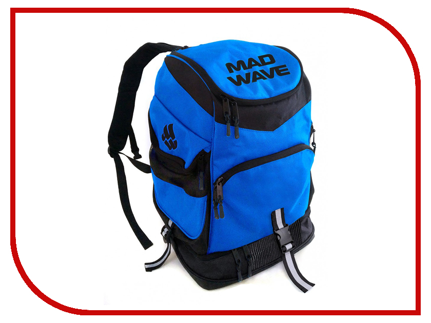 Рюкзак Mad Wave Backpack Mad Team Blue M1123 01 0 04W