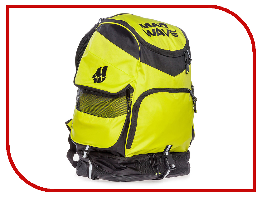 Рюкзак Mad Wave Backpack Mad Team Green M1123 01 0 10W