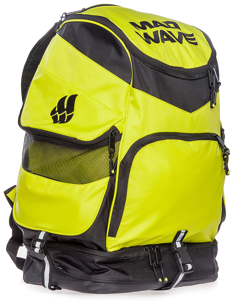 Рюкзак Mad Wave Backpack Mad Team Green M1123 01 0 10W hopping mad