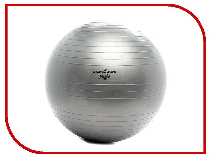 Мяч Mad Wave Anti Burst Gym Ball р.26 Grey M1311 01 26 0W футболка мужская abercrombie