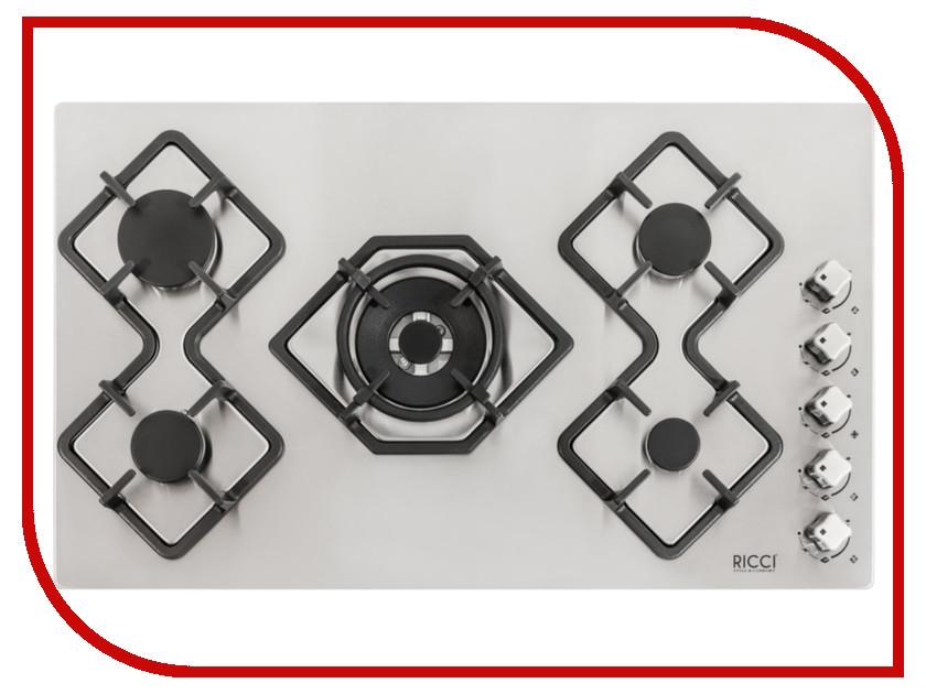 Варочная панель Ricci RGN-KA5041IX siemens lc 98 ka 572 ix