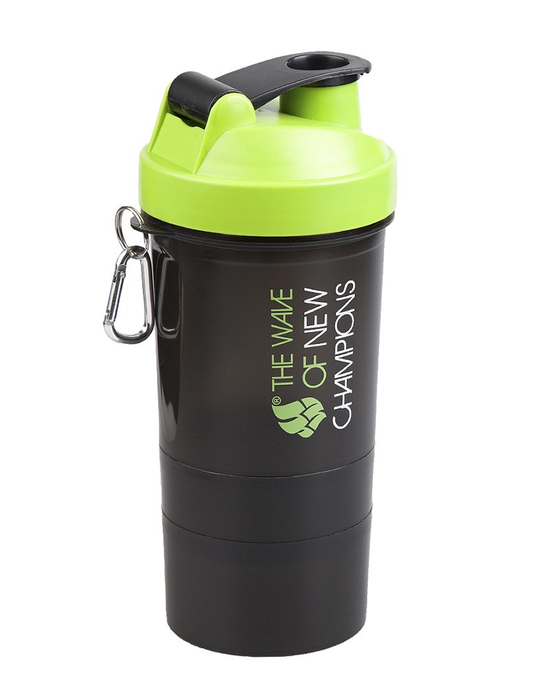 Шейкер Mad Wave Shaker 400ml Green M1390 03 0 10W