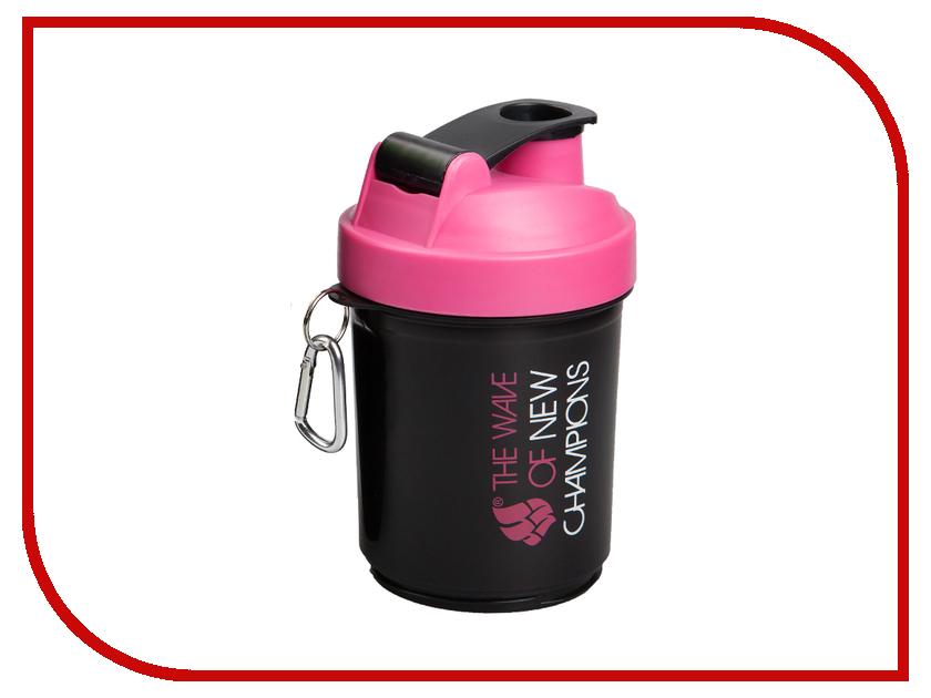 Шейкер Mad Wave Shaker 400ml Pink M1390 03 0 21W бутылки для воды mad wave шейкер