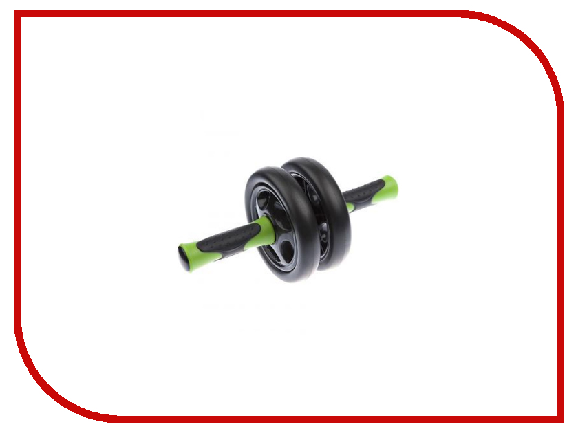 Тренажер Ролик Mad Wave Double Exercise Wheel Black-Green M1391 04 0 00W шапочка mad wave submarine cap silicone multi m0573 02 0 00w