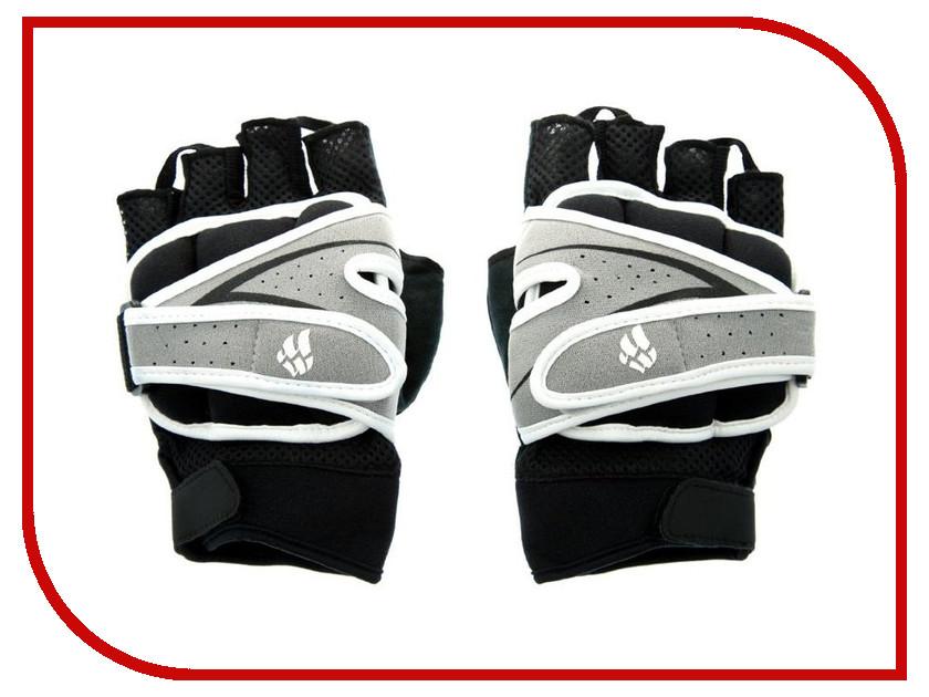 Перчатки для фитнеса Mad Wave Weighter Gloves L Black-Grey M1391 11 6 17W бутылки для воды mad wave шейкер