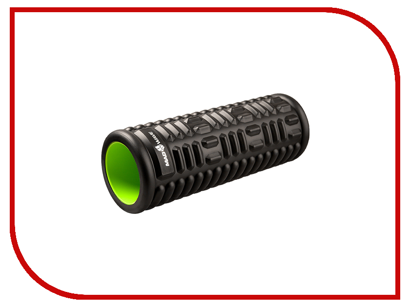 Массажер Mad Wave Massage Roller Black-Green M1396 01 0 00W