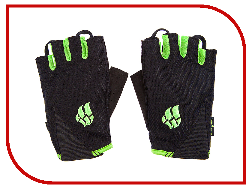 Перчатки для фитнеса Mad Wave Mens Training Gloves M Black-Green M1397 11 5 10W слитные купальники mad wave купальник line pbt