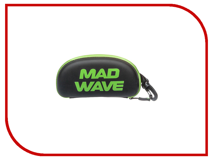 Футляр для очков Mad Wave Black-Green M0707 01 0 10W