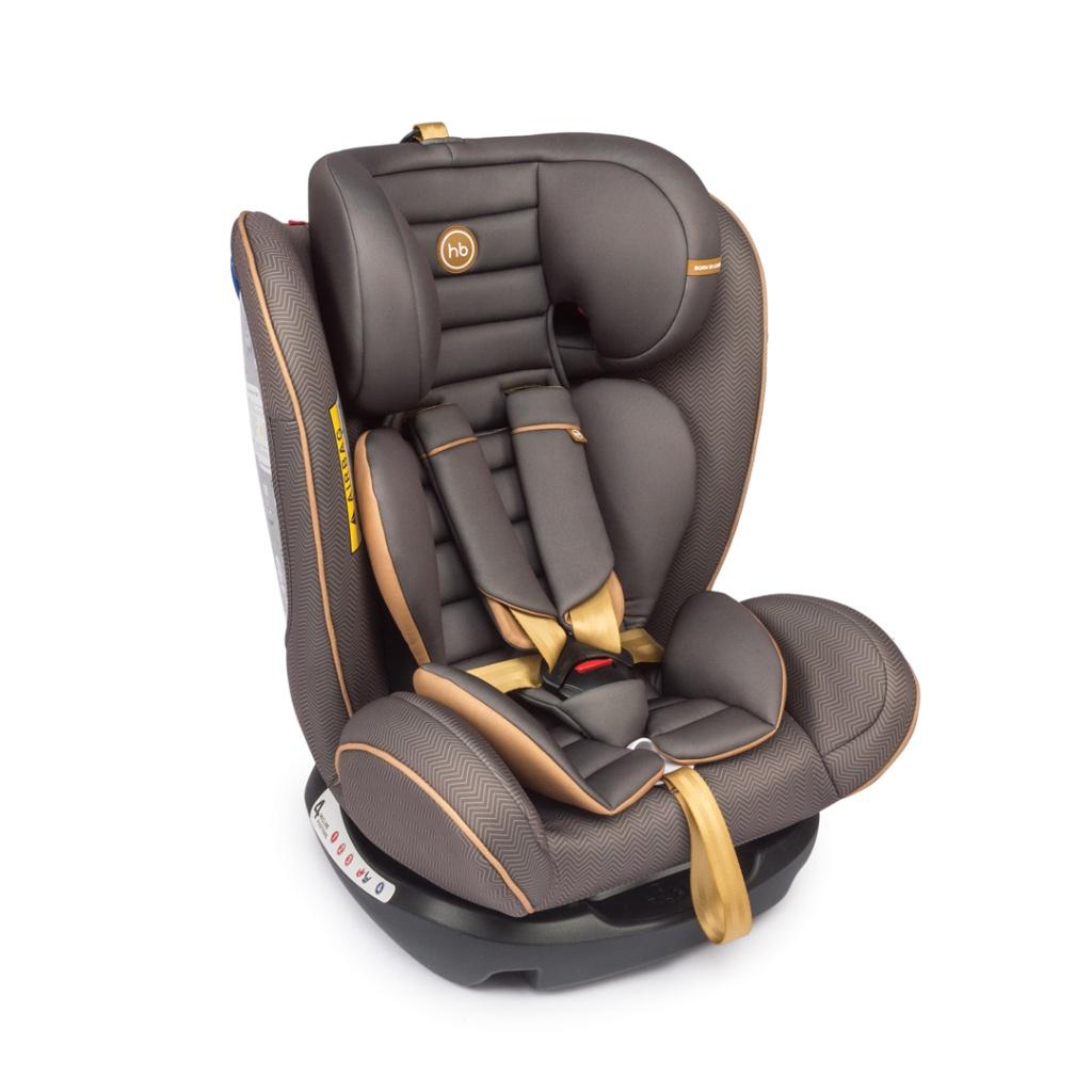 Автокресло Happy Baby Spector Brown 4690624020896 happy baby happy baby автокресло passenger v2 brown коричневое