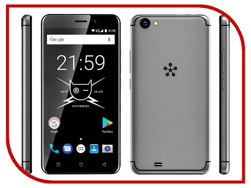 Сотовый телефон Just5 Freedom C105 Gray сотовый телефон senseit t100 black