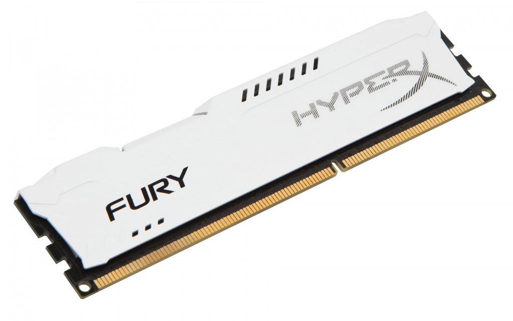 Модуль памяти Kingston HyperX Fury White Series DDR4 DIMM 2666MHz PC4-21300 CL16 - 8Gb HX426C16FW2/8