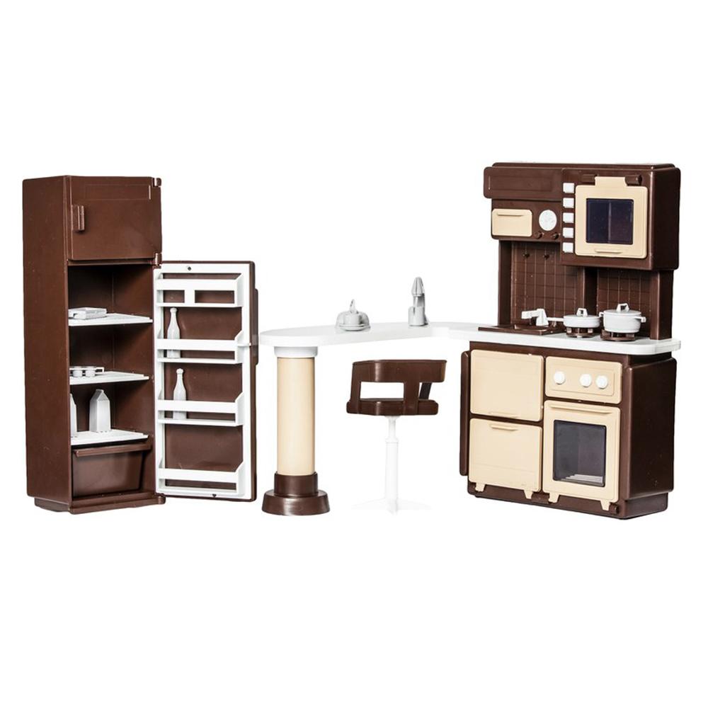 Набор мебели для кукольного домика Огонек С-1298