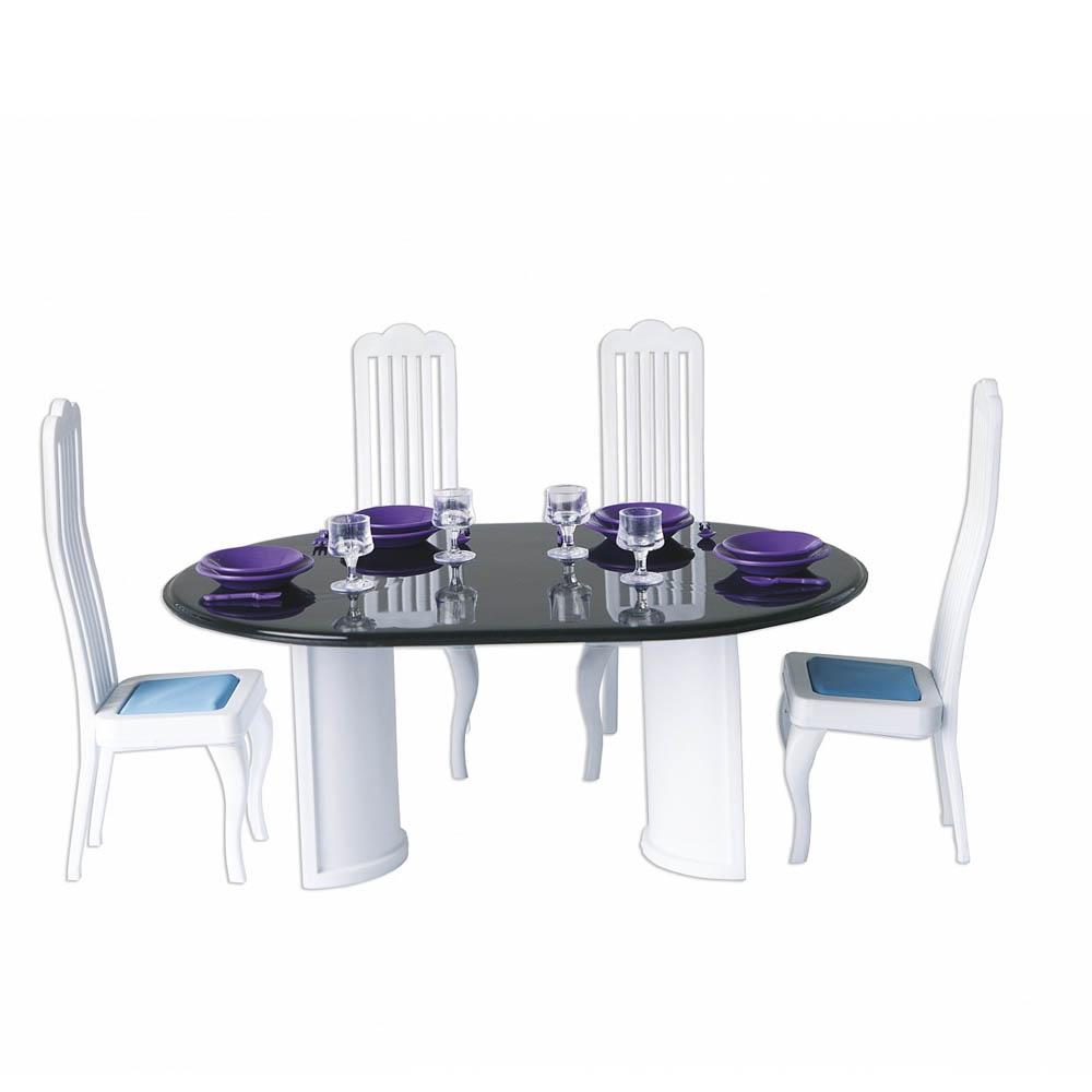 Мебель для кукольного домика Огонек Столовая С-1332