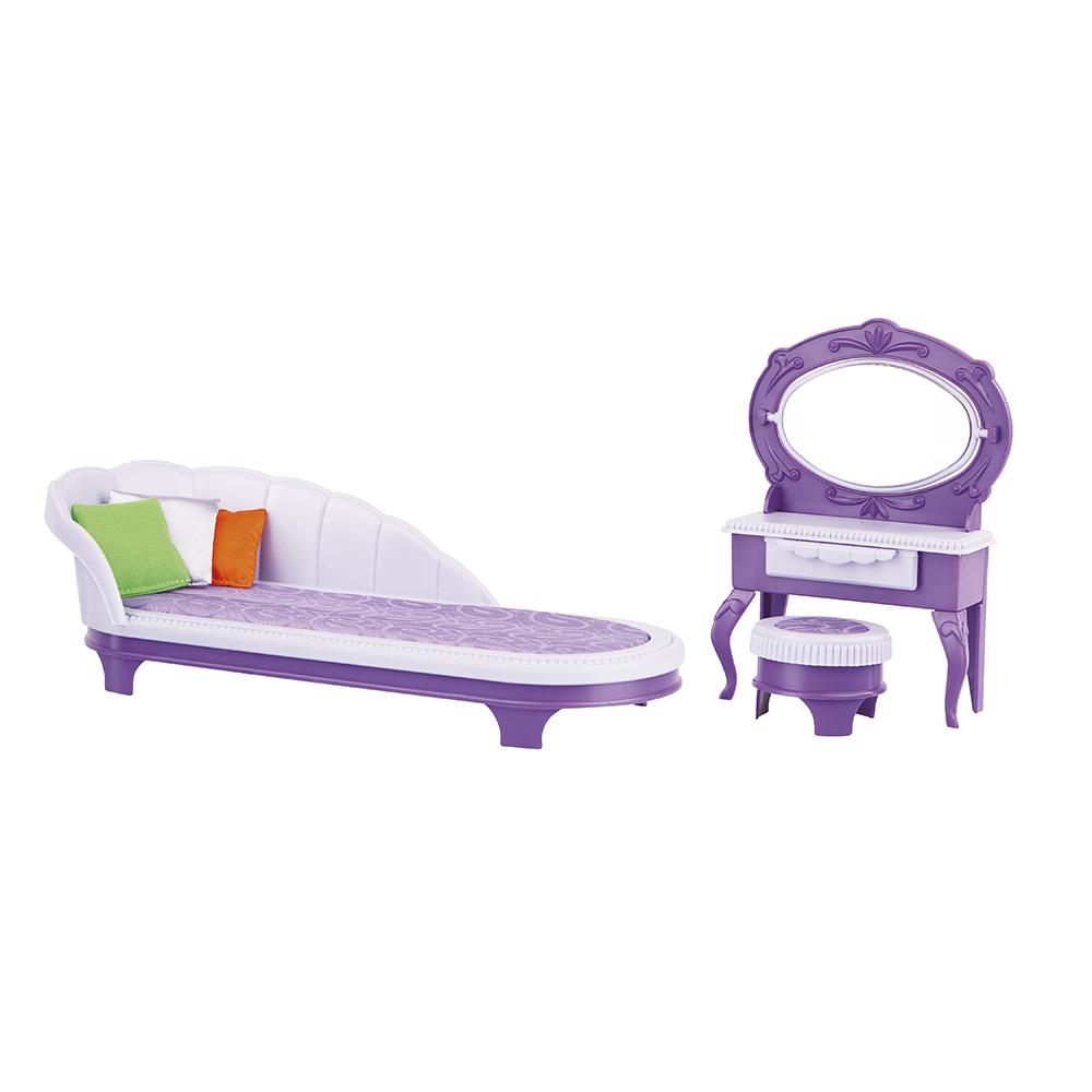 Набор кукольной мебели Огонек Будуар С-1368