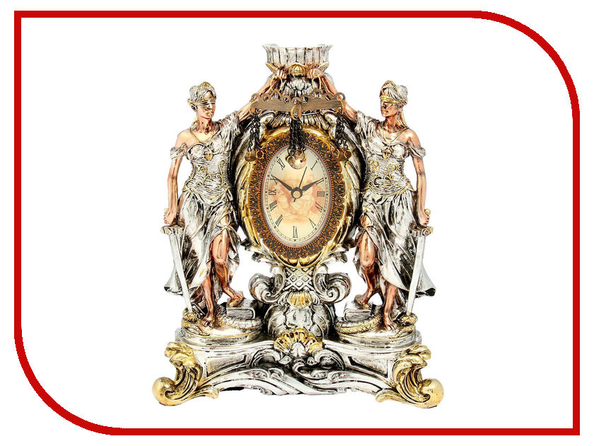 Часы СИМА-ЛЕНД Фемида Gold-Silver 109017