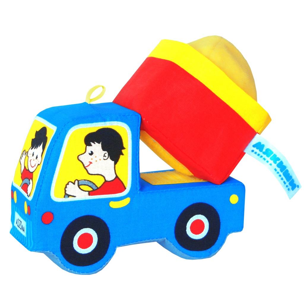 Игрушка Мякиши Грузовичок 152 мякиши игрушка кукольный домик маняши мякиши