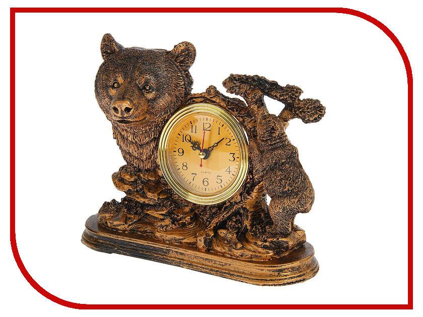 Часы СИМА-ЛЕНД Медведица с медвежонком в лесу 1384808 брюки bestia bestia be032ewlin67