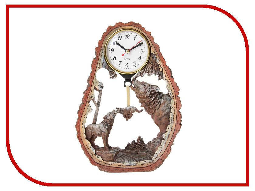 Часы СИМА-ЛЕНД Волчья стая 872906