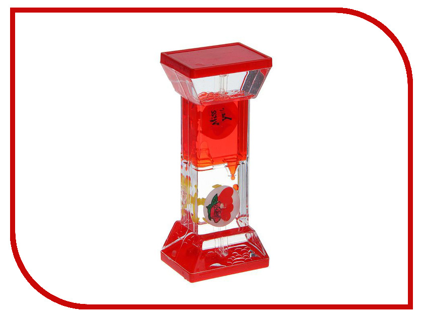 Игрушка антистресс Часы песочные с жидкостью СИМА-ЛЕНД Смайлики 556758