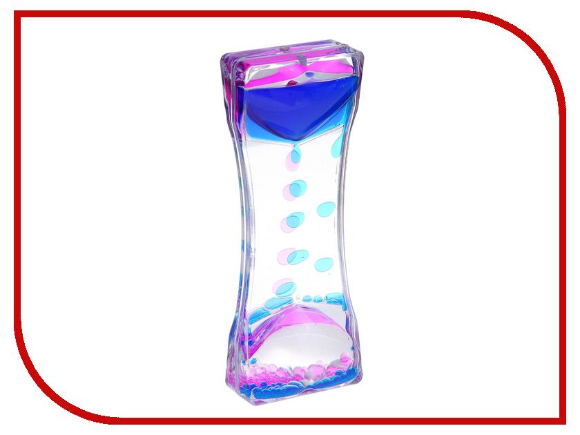 Игрушка антистресс Часы песочные с жидкостью СИМА-ЛЕНД Сердца 556760