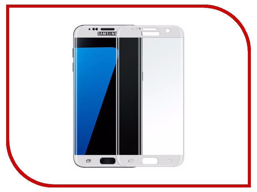 Аксессуар Защитное стекло Samsung Galaxy S7 Pero 2.5D White аксессуар защитное стекло highscreen fest xl pro luxcase 0 33mm 82179