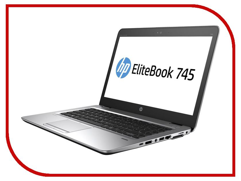 Ноутбук HP EliteBook 745 G4 Z2W04EA Silver (AMD A12-9800B 2.7 GHz/8192Mb/256Gb SSD/No ODD/AMD Radeon R7/Wi-Fi/Bluetooth/Cam/14/1920x1080/Windows 10 Pro) ноутбук hp elitebook 820 g4 z2v85ea z2v85ea