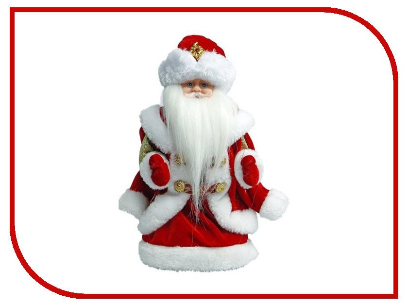 Игрушка Новогодняя Сказка Дед Мороз 30см В лесу родилась елочка Red 972607 игрушка новогодняя сказка дед мороз 25см blue 949200