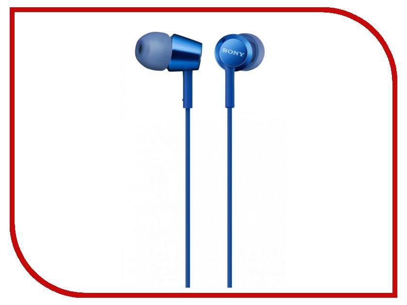 Sony MDR-EX155AP Blue sony mdr ex155ap blue