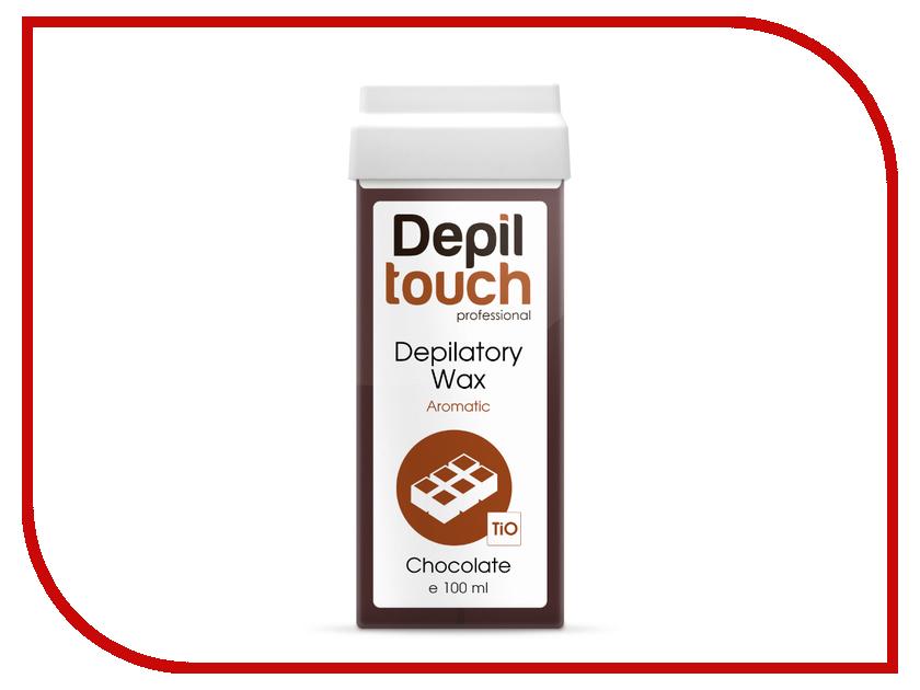 Домашний шугаринг Depiltouch Professional Воск в картридже Горький шоколад 100ml 87014 шугаринг вельвет купить