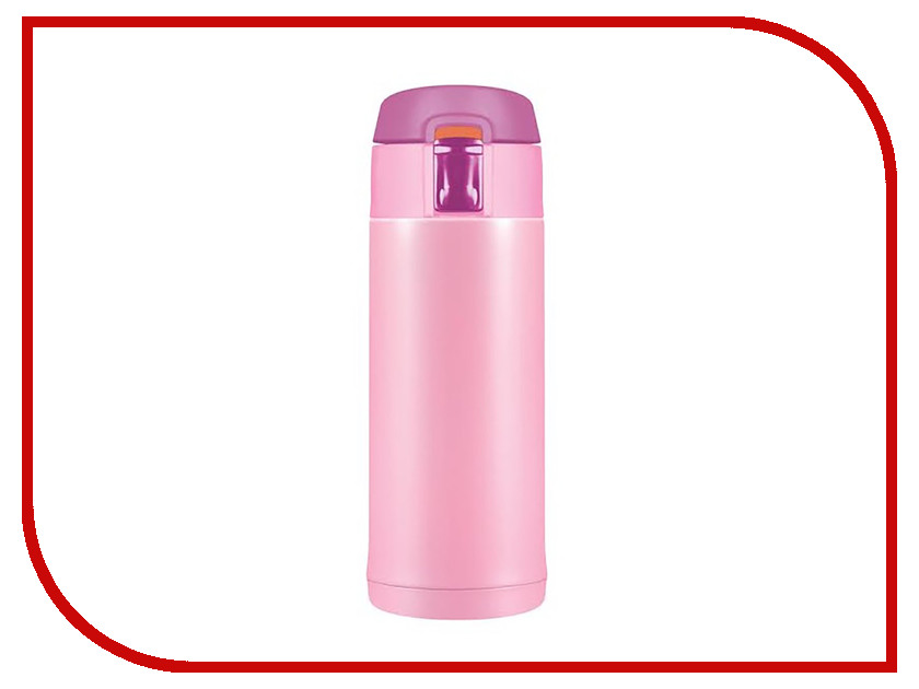 Термокружка Woodsurf Quick Open 2.0 350ml Pink Gloss QOTC2350-02