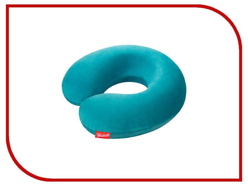 Ортопедическая подушка Woodsurf La Siesta Memory Foam Turquoise LS-03 гамаки la siesta гамак двухместный currambera