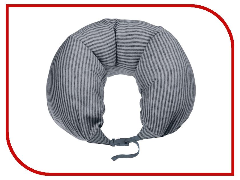 Ортопедическая подушка Woodsurf La Siesta Travel USB Dark Grey LSTP-02 гамаки la siesta гамак двухместный carolina