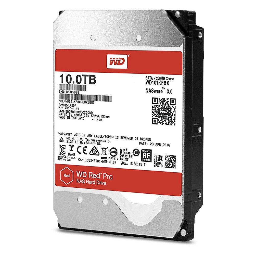 Жесткий диск Western Digital WD 10Tb Red Pro WD101KFBX