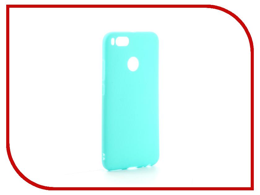 Аксессуар Чехол Xiaomi Mi A1 / Mi5X Zibelino Soft Matte Turquoise ZSM-XIA-MIA1-TQS аксессуар чехол lenovo z90 vibe shot z90a40 zibelino soft matte zsm len vib shot