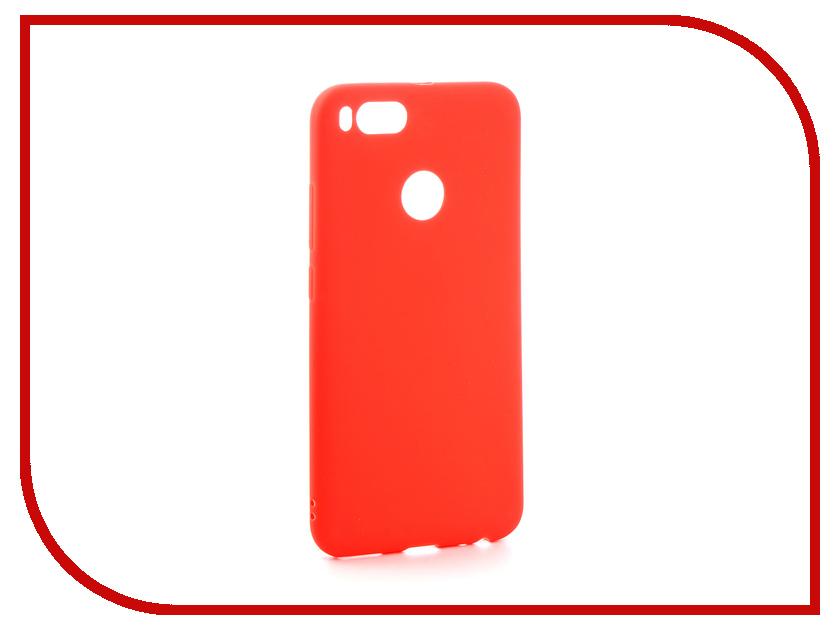Аксессуар Чехол Xiaomi Mi A1 / Mi5X Zibelino Soft Matte Red ZSM-XIA-MIA1-RED аксессуар чехол huawei p9 lite zibelino soft matte zsm hua p9 lit