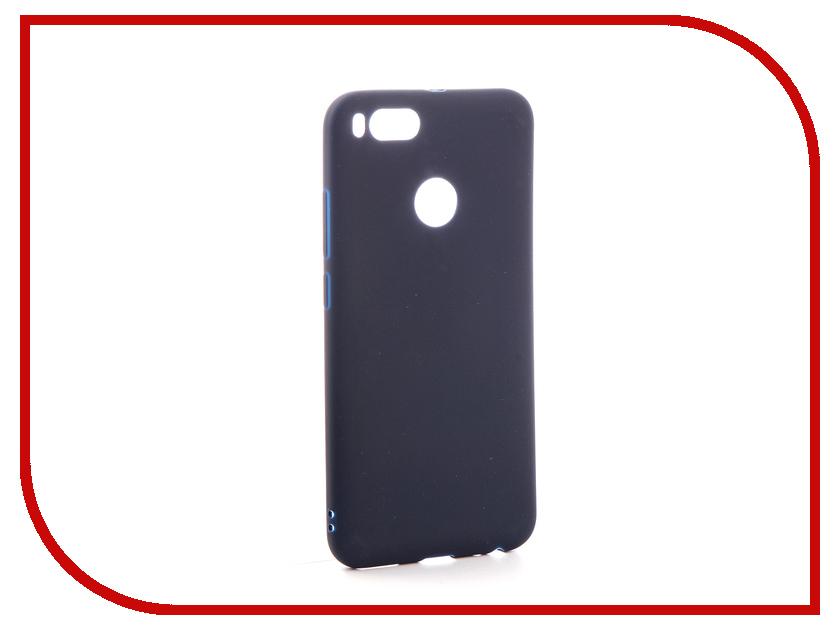 Аксессуар Чехол Xiaomi Mi A1 / Mi5X Zibelino Soft Matte Dark Blue ZSM-XIA-MIA1-BLU аксессуар чехол lenovo z90 vibe shot z90a40 zibelino soft matte zsm len vib shot