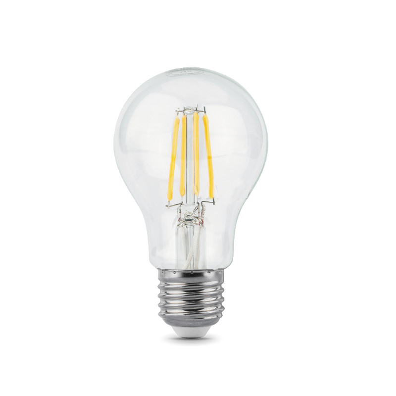 Лампочка Gauss LED Filament E27 A60 10W 4100K 102802210