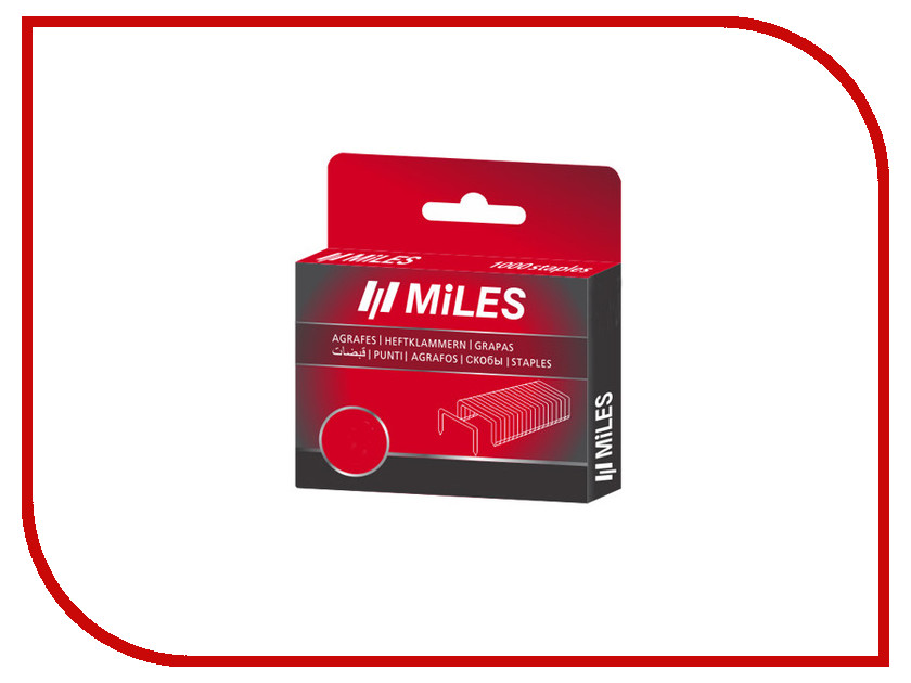 Скобы Miles тип 13 10мм 1000шт N13-10